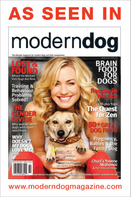 As Seen In Modern Dog Magazine